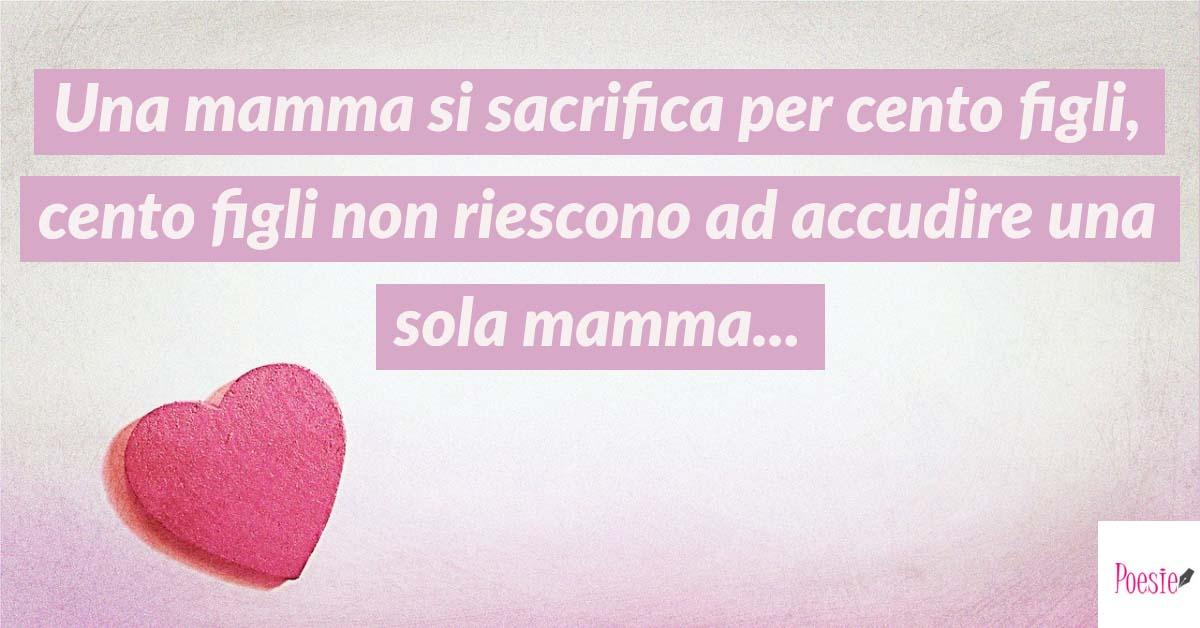 Frasi Festa Della Mamma Poesie Reportonline It