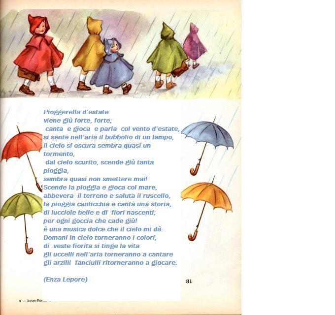 Super Poesia di Enza Lepore - Pioggia d'estate - Poesie di Enza Lepore  ED16