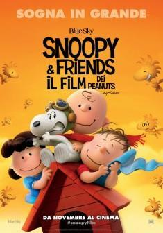 locandina snoopy & friends film peanuts 2015
