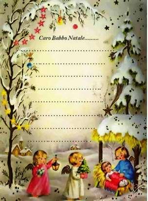 Immagini Letterine Di Natale.Vecchie Letterine Di Natale Poesie Reportonline It
