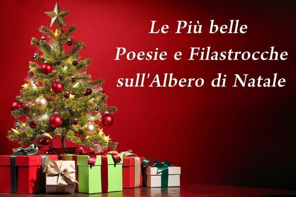 spesso Poesie e Filastrocche sull'albero di Natale - Poesie.reportonline.it VA39