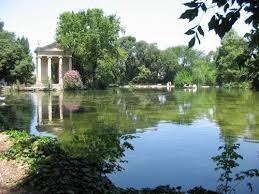 Laghetto Villa Borghese Poesie Report On Line