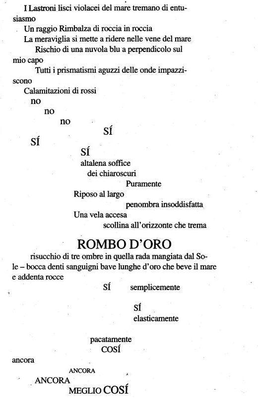 Top Poesia di Filippo Tommaso Marinetti - Si, si, così, l'aurora sul  TF56