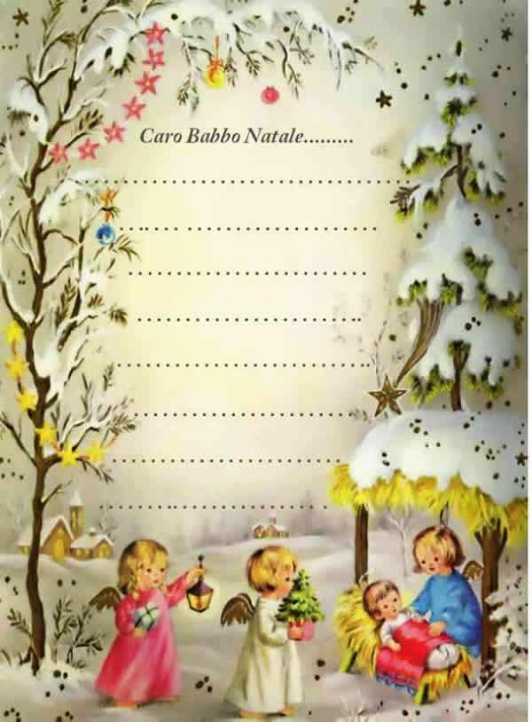 Natale Poesie Filastrocche Disegni Letterine Segnaposti